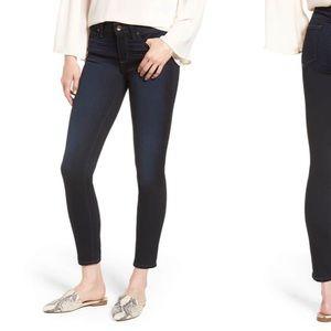 NWT Paige Verdugo skinny ankle jeans dark rinse